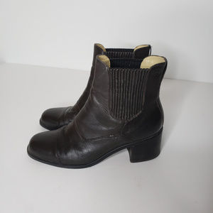 Ariat Black Leather Ankle Booties